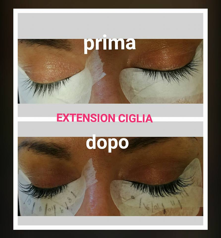 Extension ciglia Hybrid